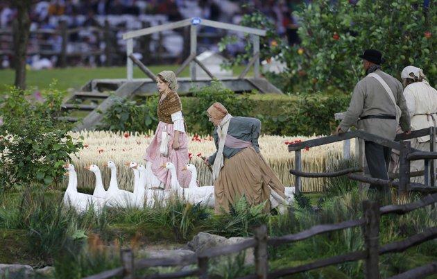 عکسها و تصاویر افتتاحیه المیپک لندن