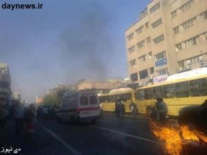اغتشاشات و شلوغی بازار تهران